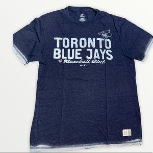 Majestic Toronto Blue Jays Blue T-Shirt Size Large